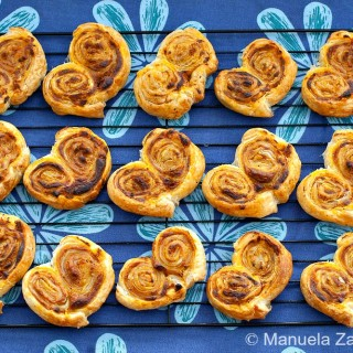 Sun Dried Tomato Palmiers