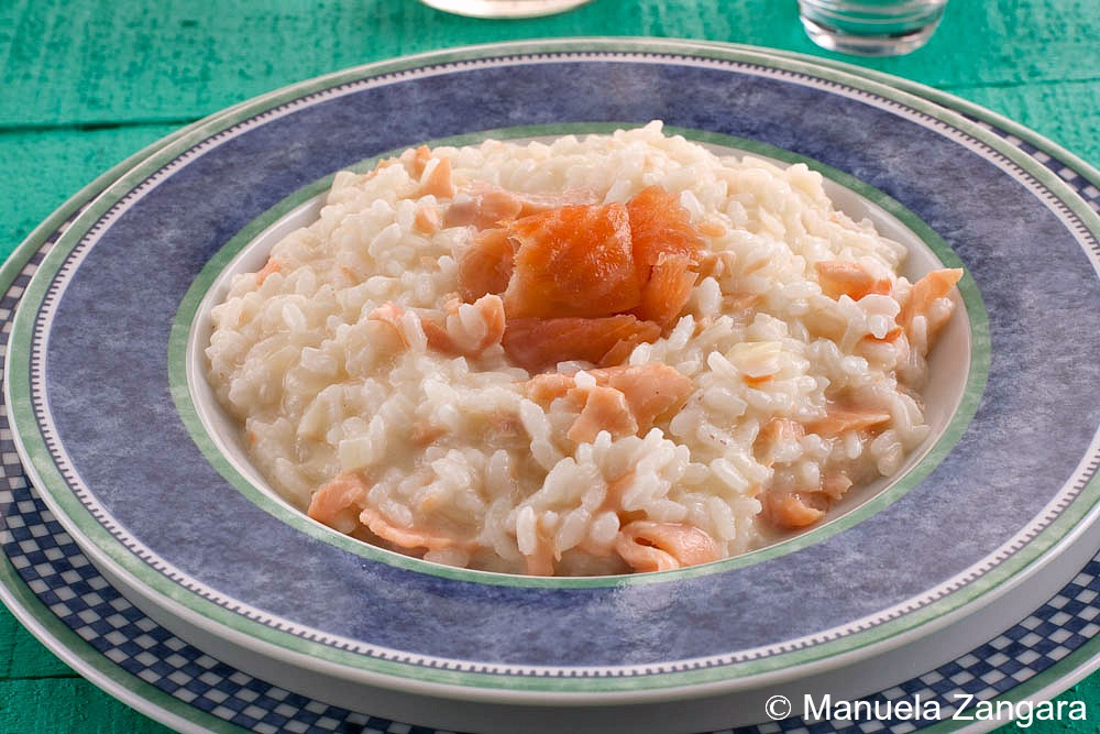 Smoked Salmon and Vodka Risotto