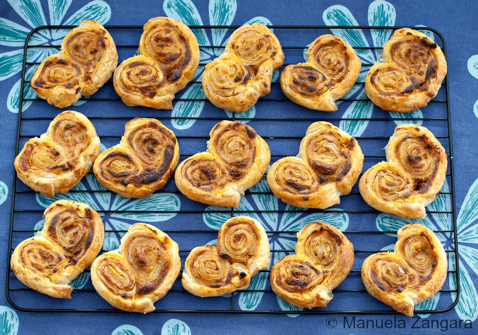 Sundried Tomato Palmiers