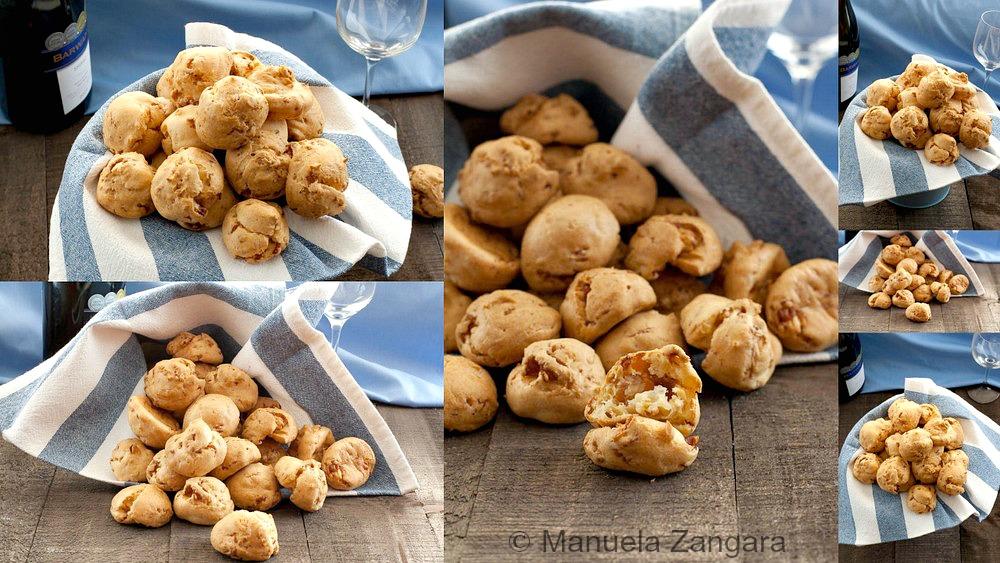 Prosciutto and Parmigiano Reggiano Gougeres