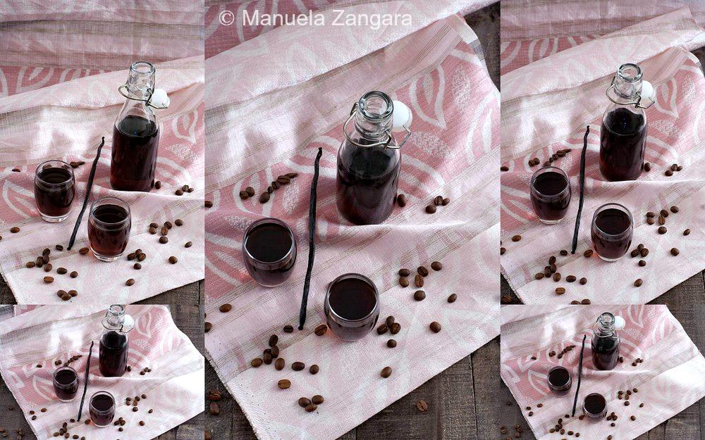 Coffee and Vanilla Liqueur
