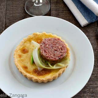 Parmigiano Reggiano Tarts with Cotechino
