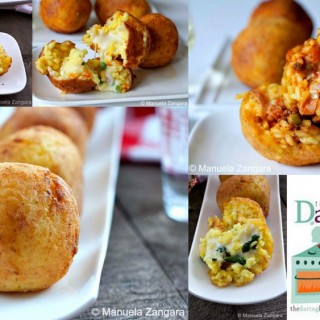 THE DARING COOKS' JANUARY 2014 CHALLENGE: ARANCINE
