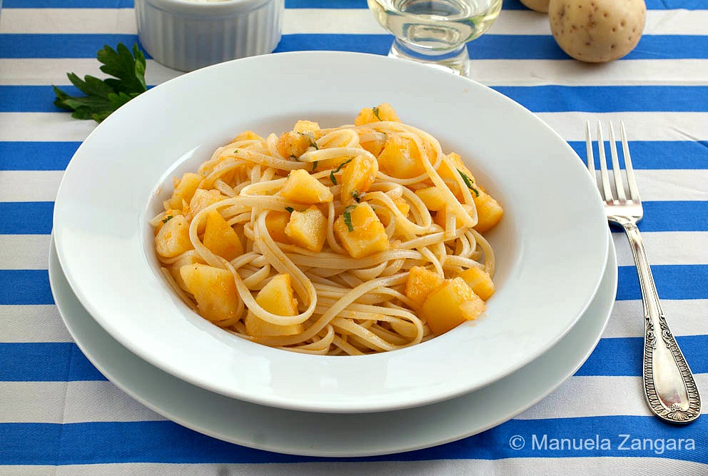 Linguine with Potatoes