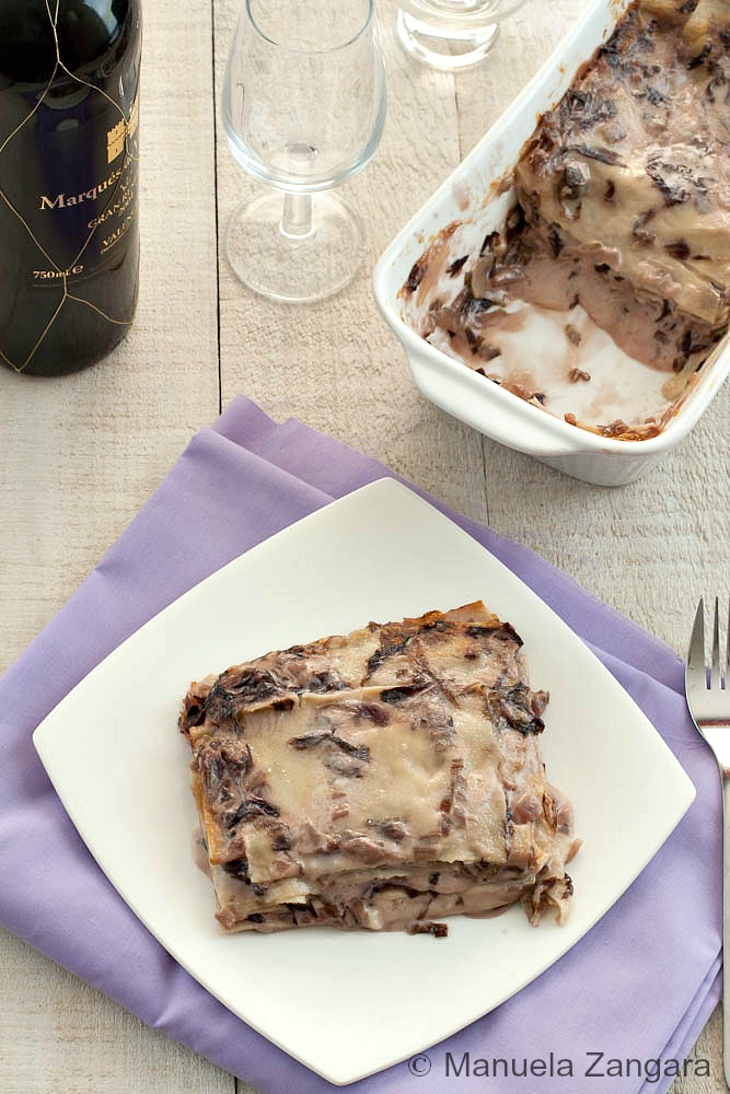 Radicchio and Taleggio Lasagne