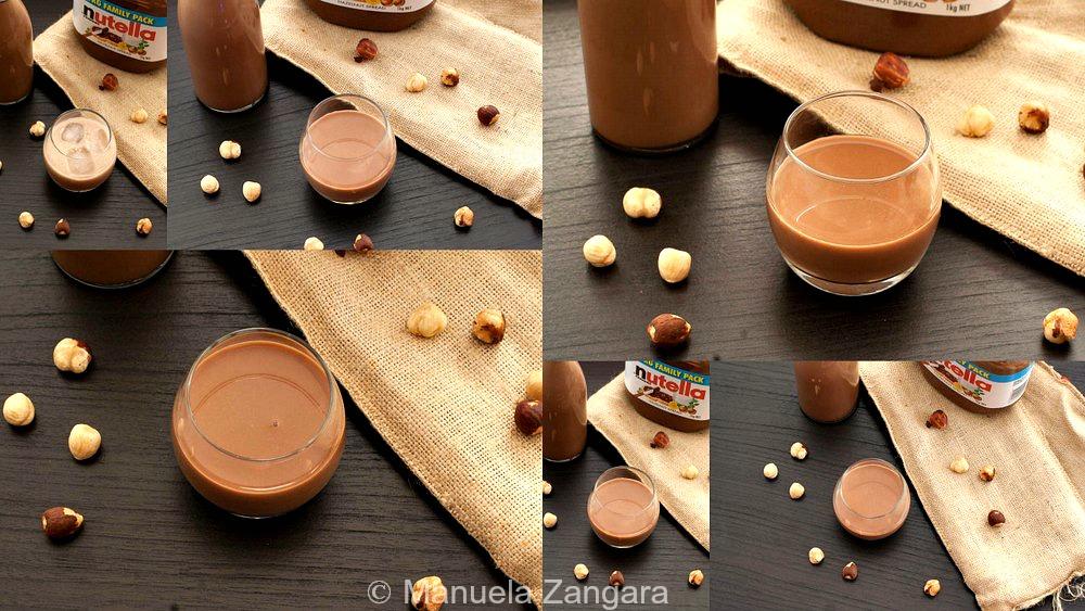 Creamy Nutella Liqueur
