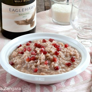 Pomegranate Risotto