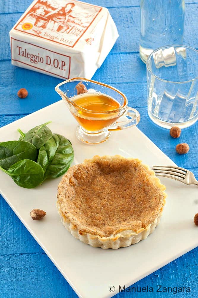Taleggio and Hazelnut Tarts