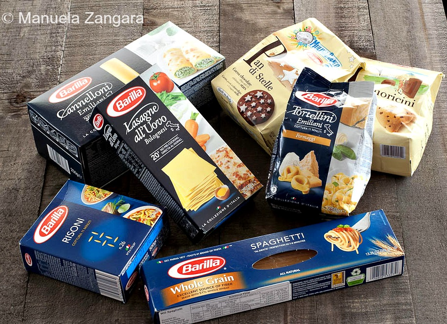 Products Pasta = Barilla