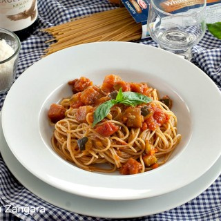 Whole Grain Spaghetti with Mediterranean Vegetables - Barilla