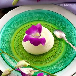 Orchid Panna Cotta