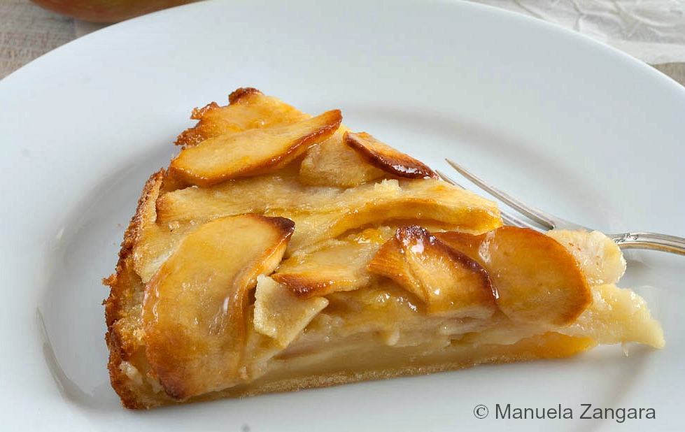 Creamy Apple Tart