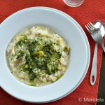 Risotto with Zucchini and Pesto