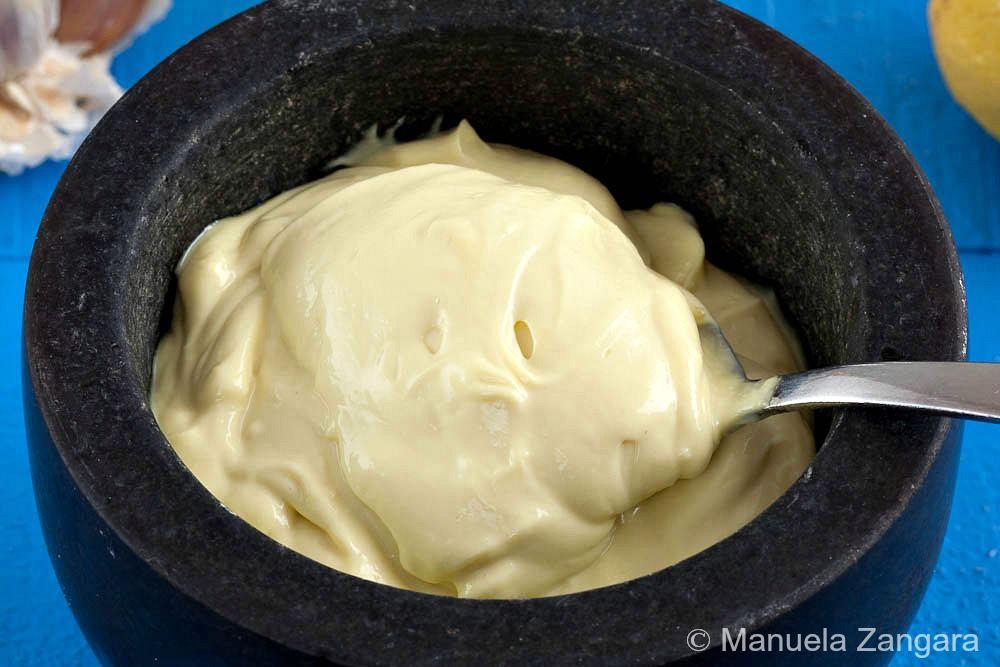 Home-made Aioli