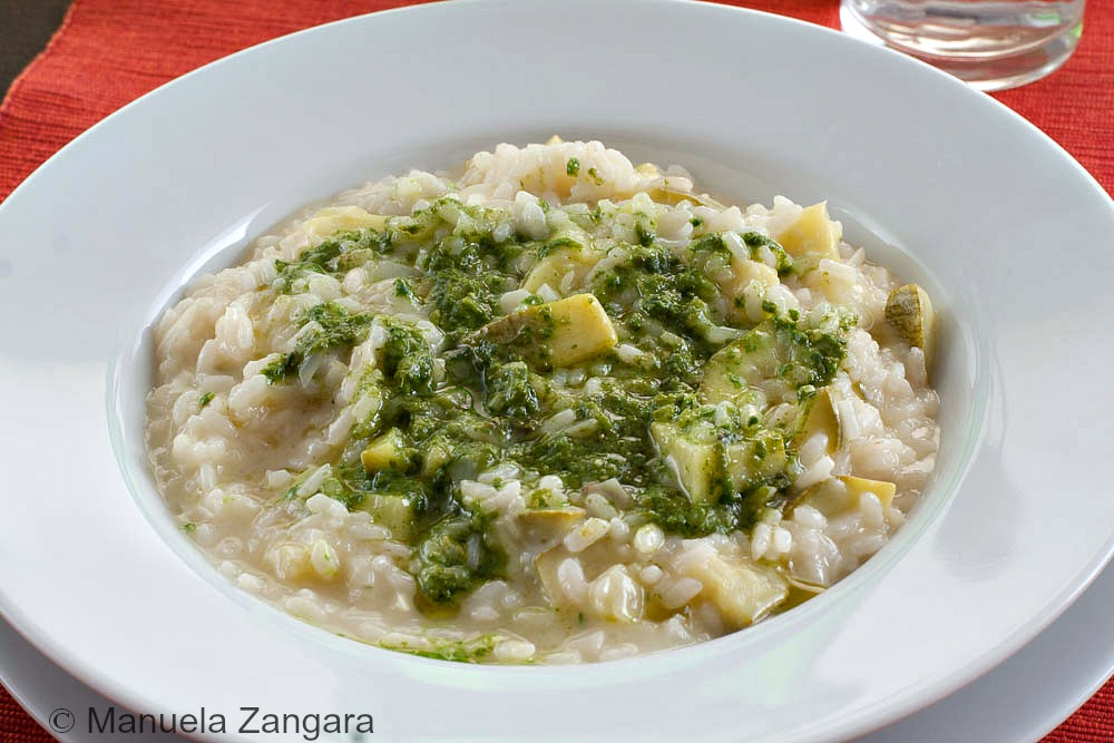 Risotto with Zucchini and Pesto | Italian Food ... says: