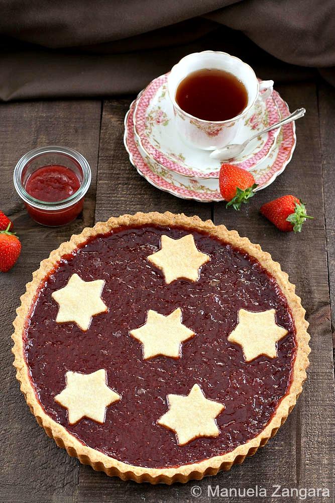 Strawberry Jam Crostata
