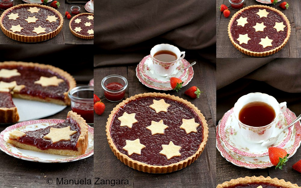 Strawberry Jam Crostata