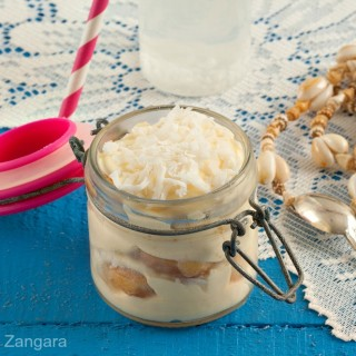 Coconut Tiramisù in a Jar