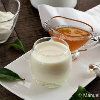 Kaffir Lime and Yogurt Panna Cotta