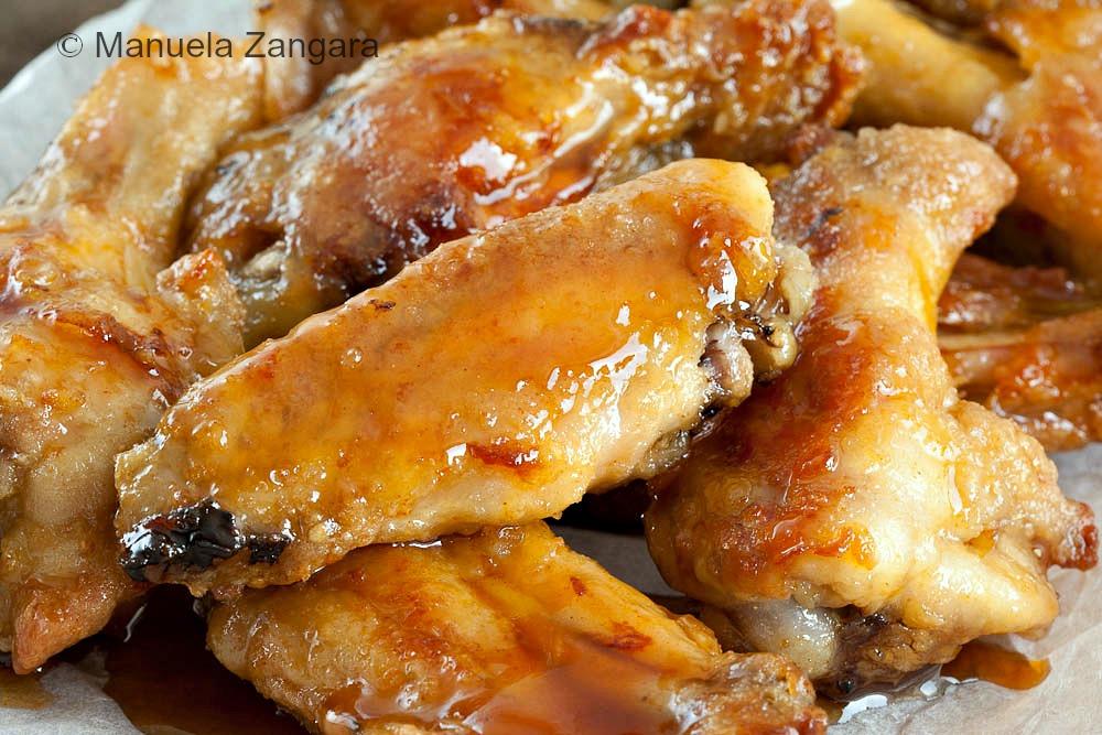 Maple and Sriracha Chicken Wings