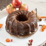 Apple, Coconut and Pecan Bundt Cake