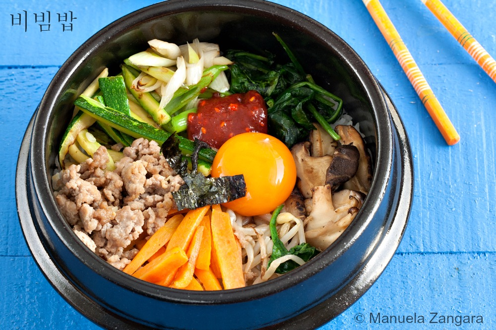 Bibimbap is usually a spicy dish as it is served with a sauce made ...