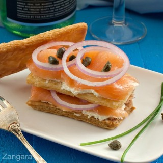 Smoked Salmon Mille-Feuille