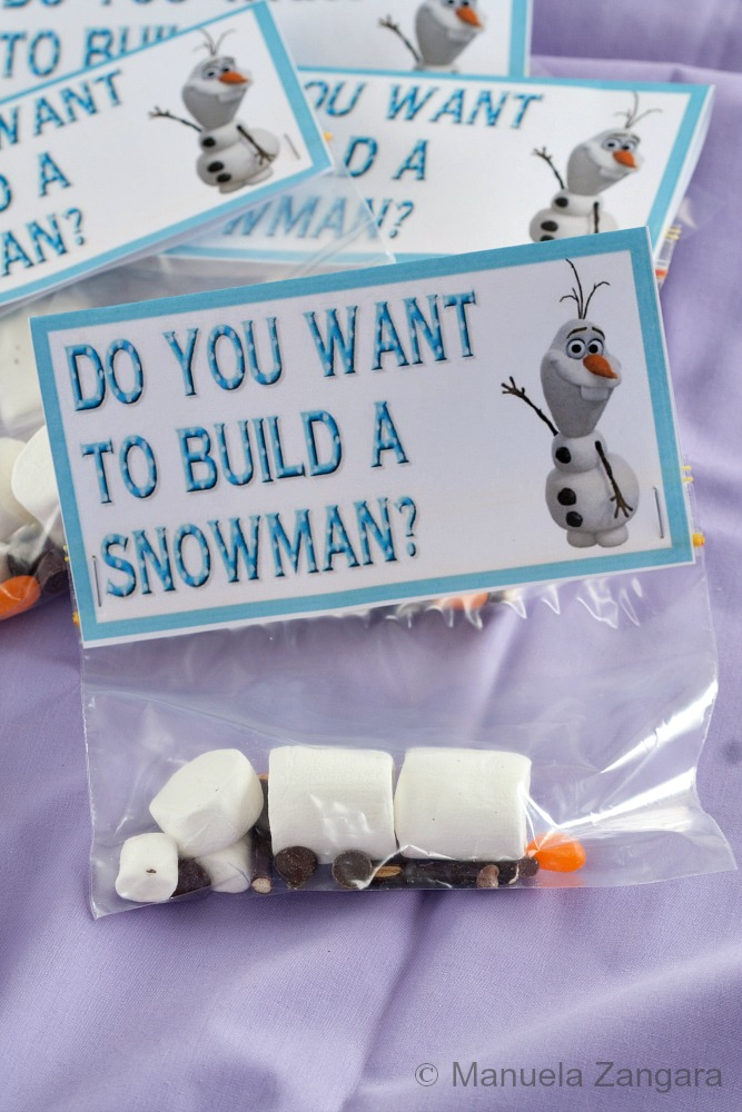 Marshmallow olaf kit for I want to make a snowman