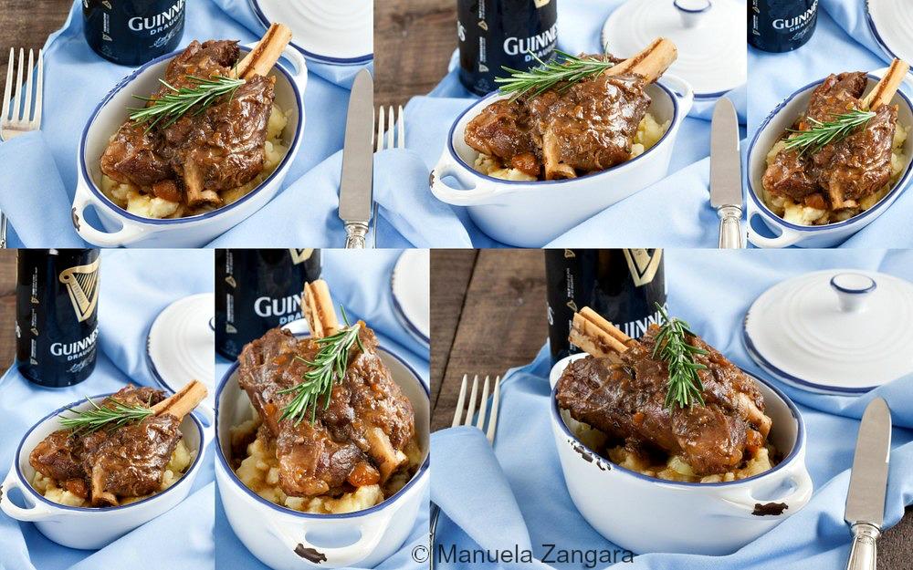 Guinness Braised Lamb Shanks
