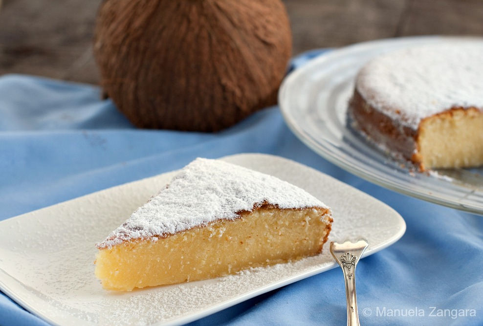Pound Cake Made With Coconut Milk
