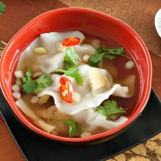 Momos in Ginger Broth