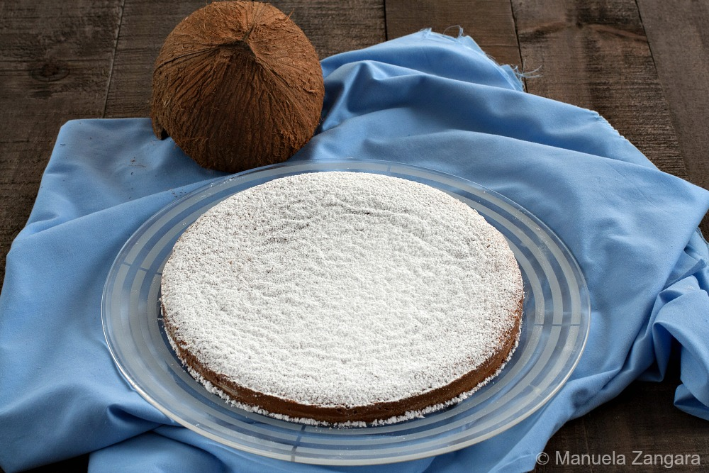 Condensed Milk and Coconut Cake