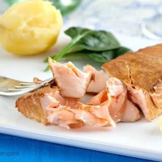 Hot Tea Smoked Salmon