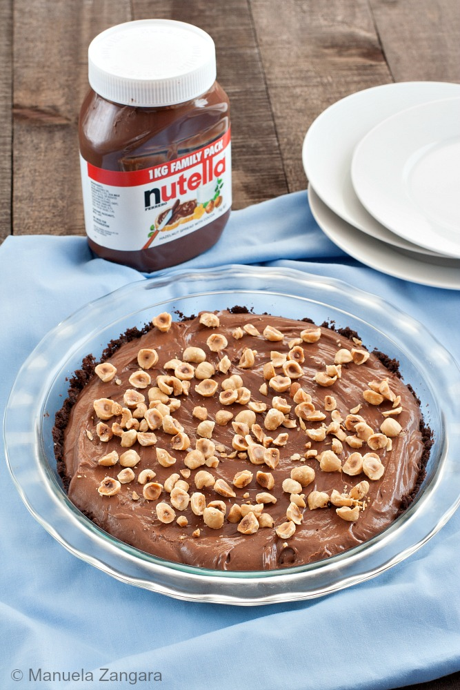 Nutella and Mascarpone Pie