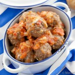 Meatballs in Tomato and Pecorino Romano Sauce