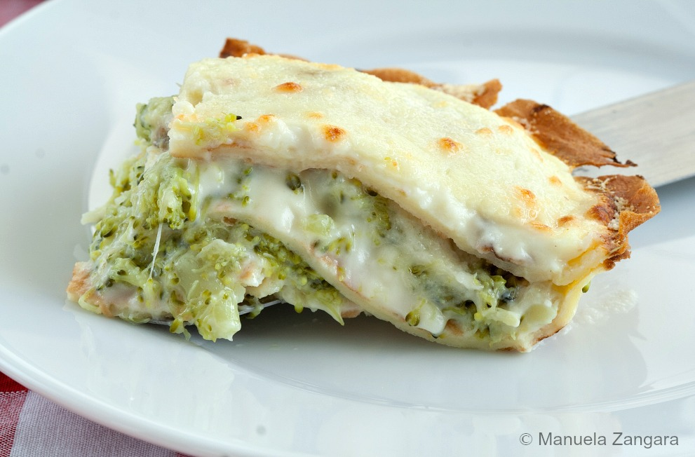 Crespelle Cake with Broccoli