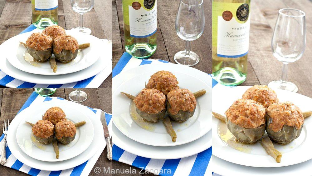 Sicilian Stuffed Artichokes