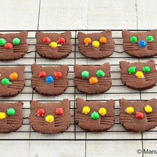 Kitten Chocolate Cookies