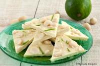 Lime and Macadamia Nut Bark