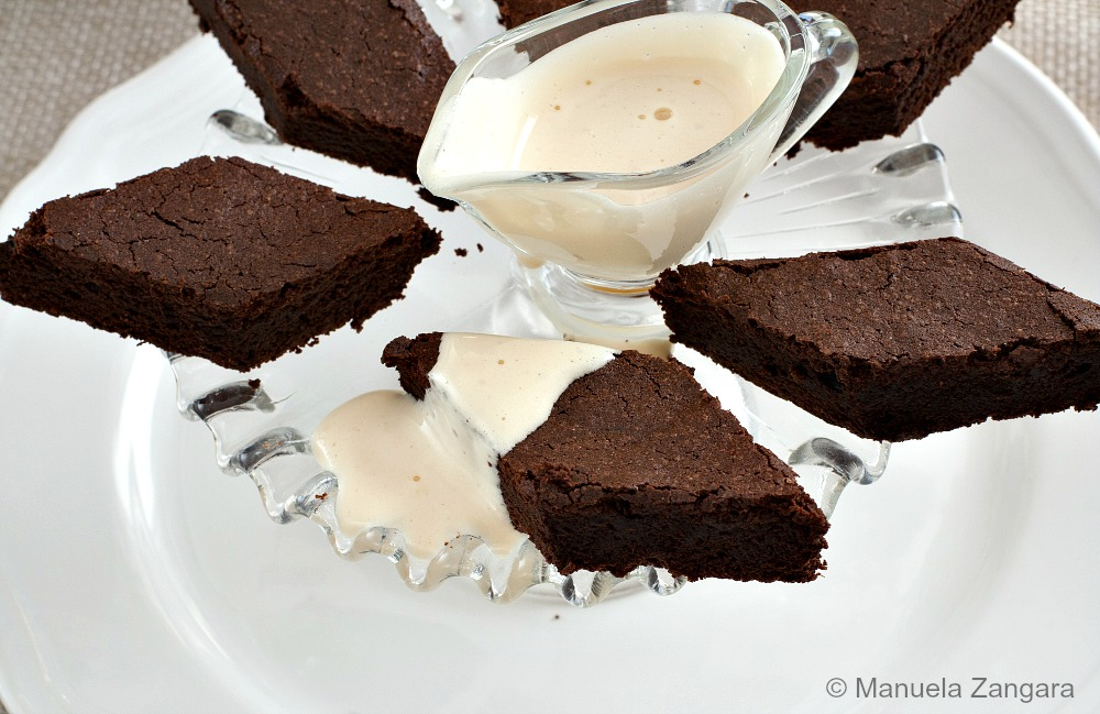 Chocolate Cake with Zabaione