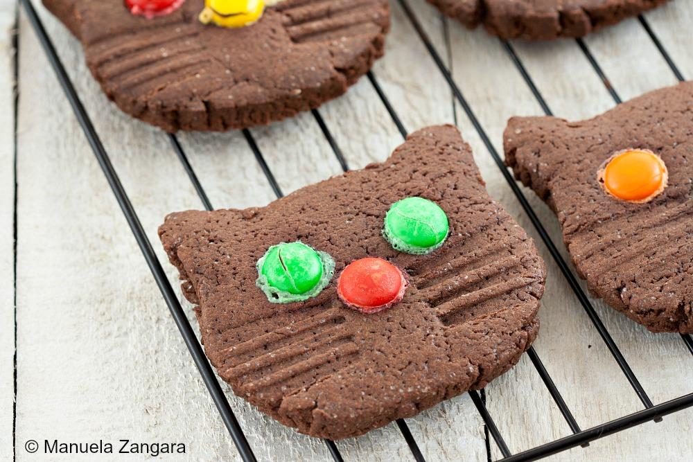 Kitten Chocolate Cookies