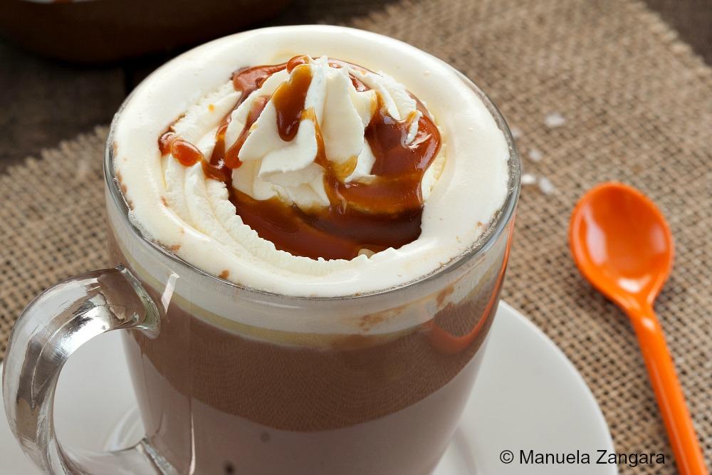 Salted Caramel Nutella Hot Chocolate