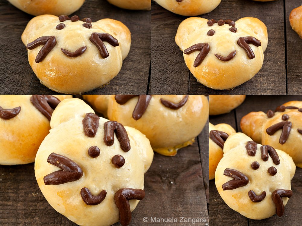 Kitty Cat Bread Buns