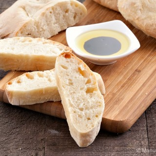 Quick No- Knead Ciabatta Bread