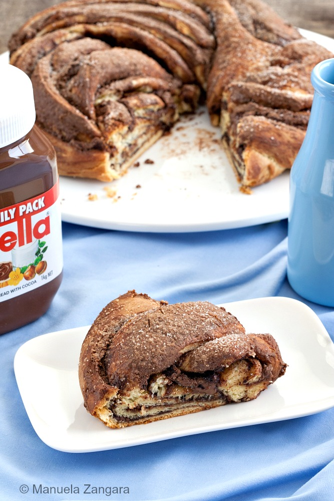 Angelica Cake with Nutella