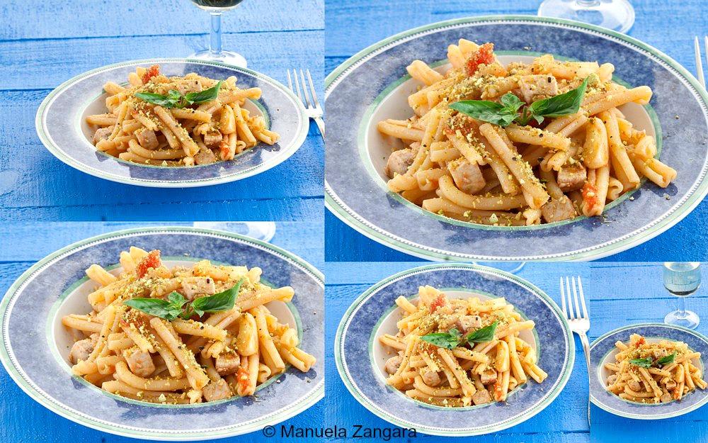 Swordfish and Pistachio Pasta