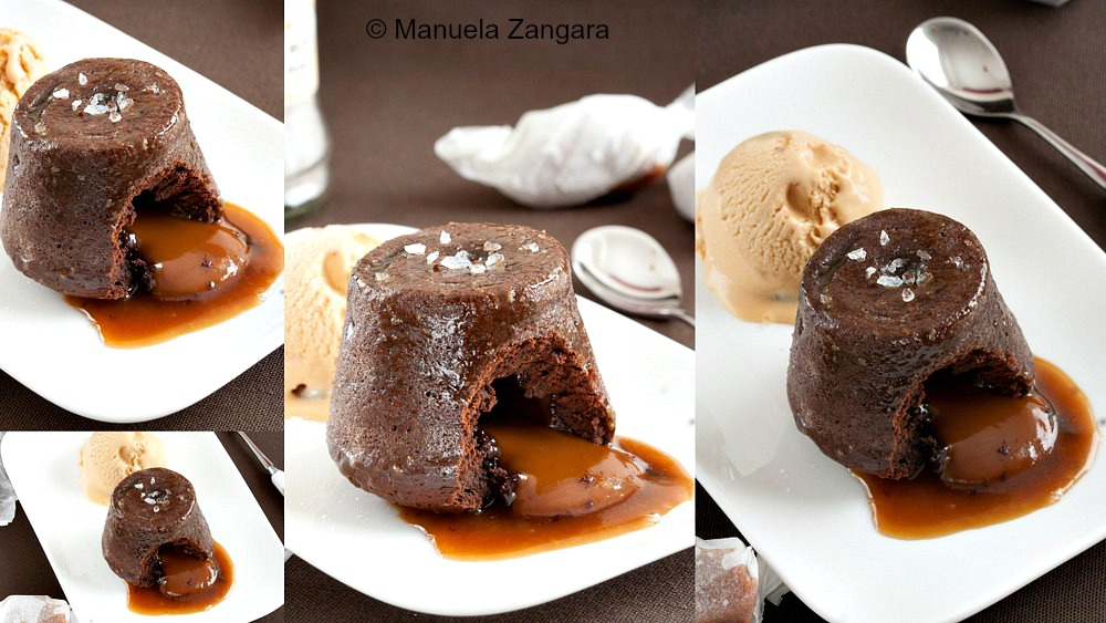 Salted Caramel Lava Cakes