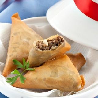 Moroccan Beef Kefta Briouat #SundaySupper