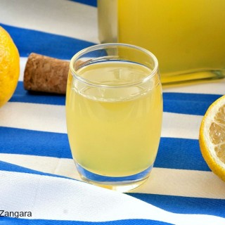 Home-made Limoncello
