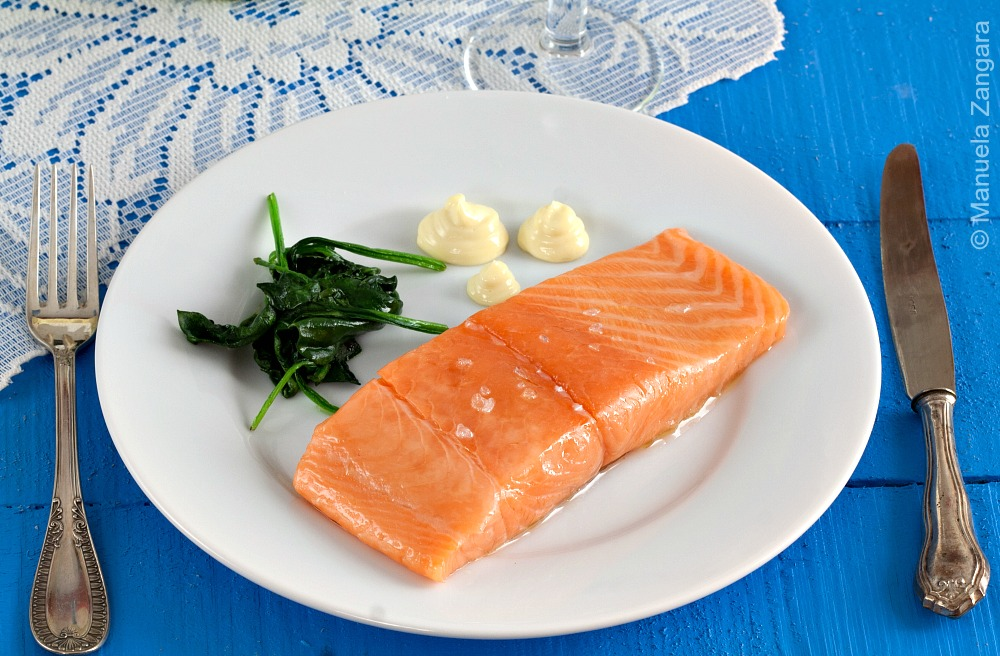 Salmon Confit with Aioli
